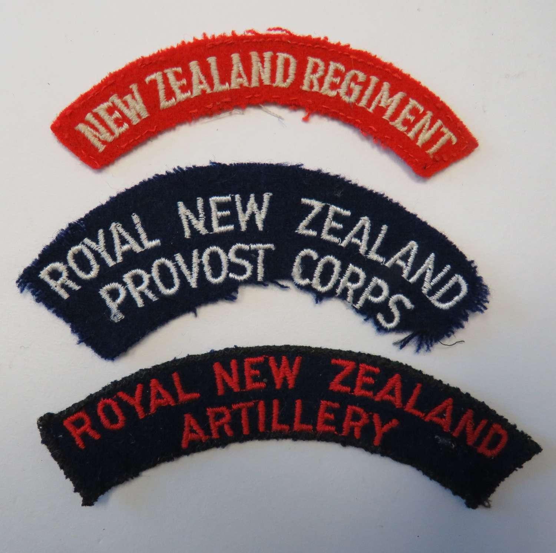 Three New Zealand Shoulder Titles