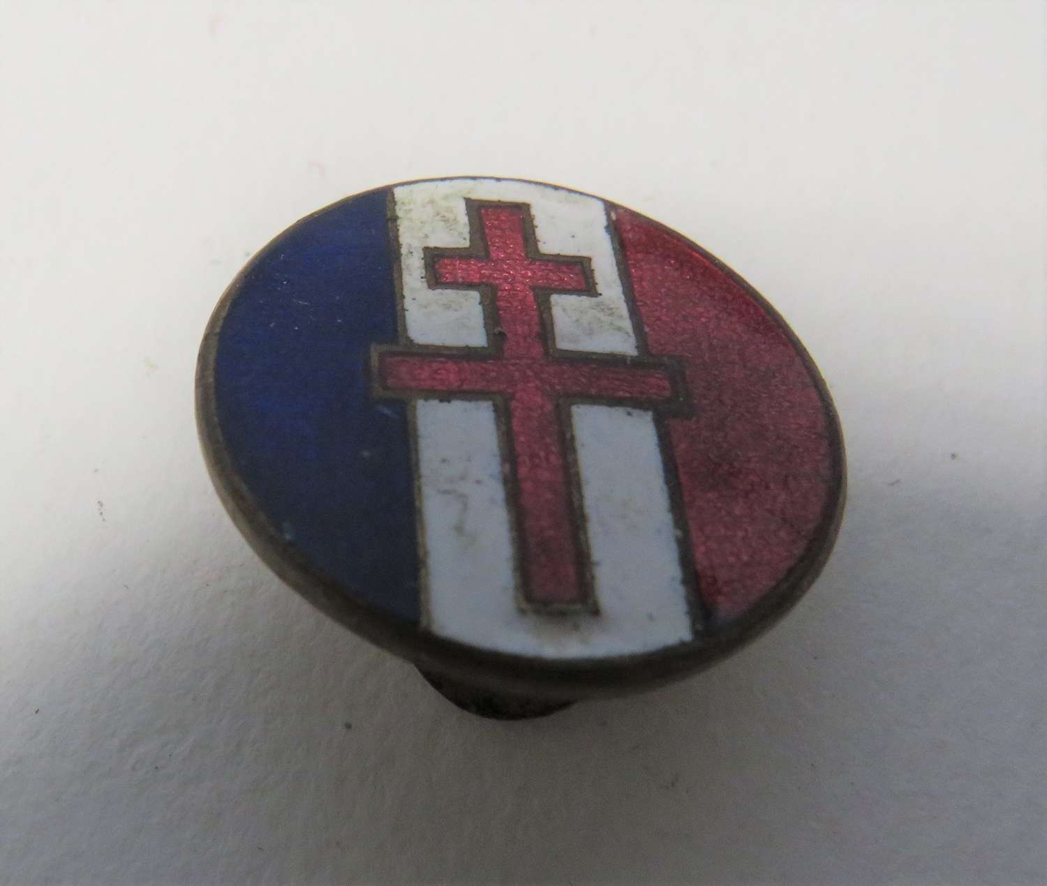 WW2 Free French Lapel Badge