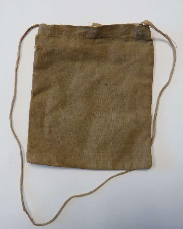 WW1 / WW2 Soldiers Pay Book Bag