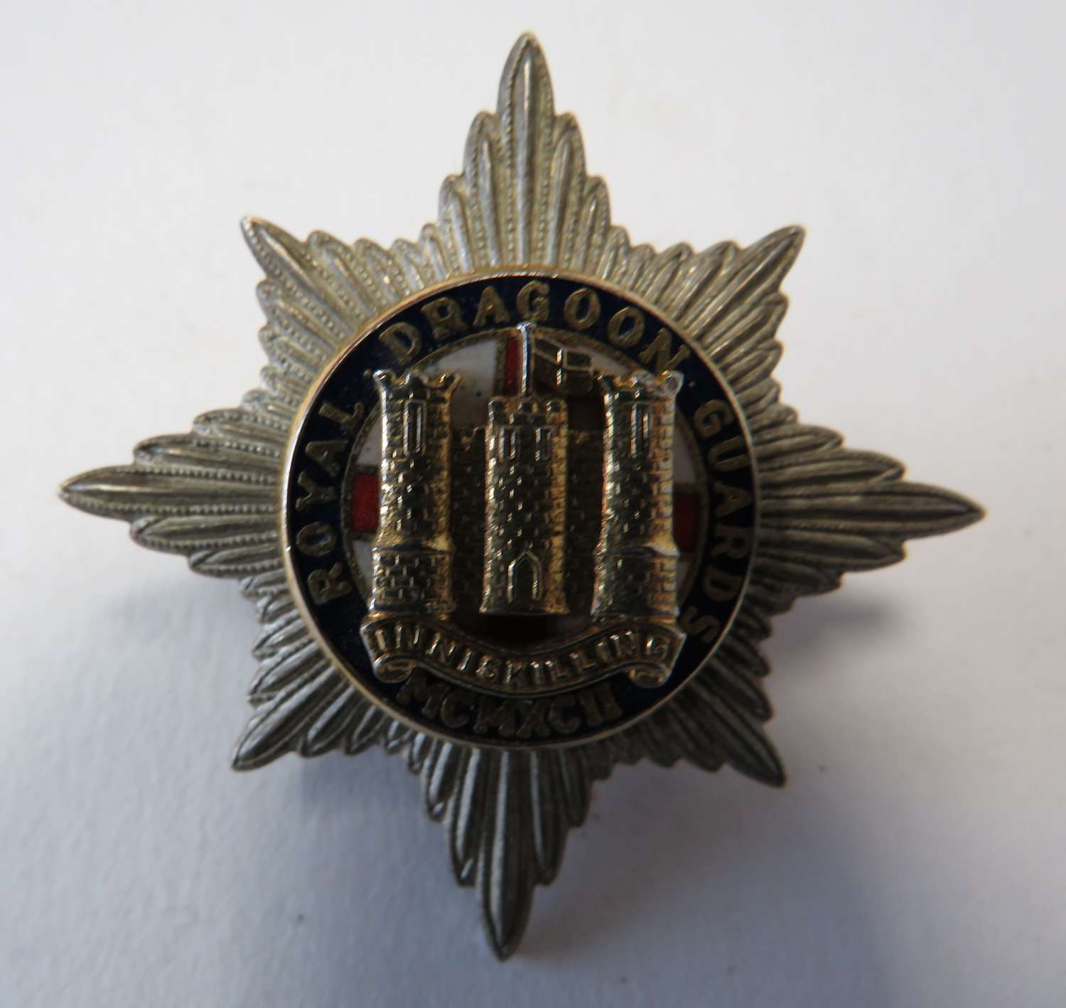 Royal Dragoon Guards Current Cap Badge