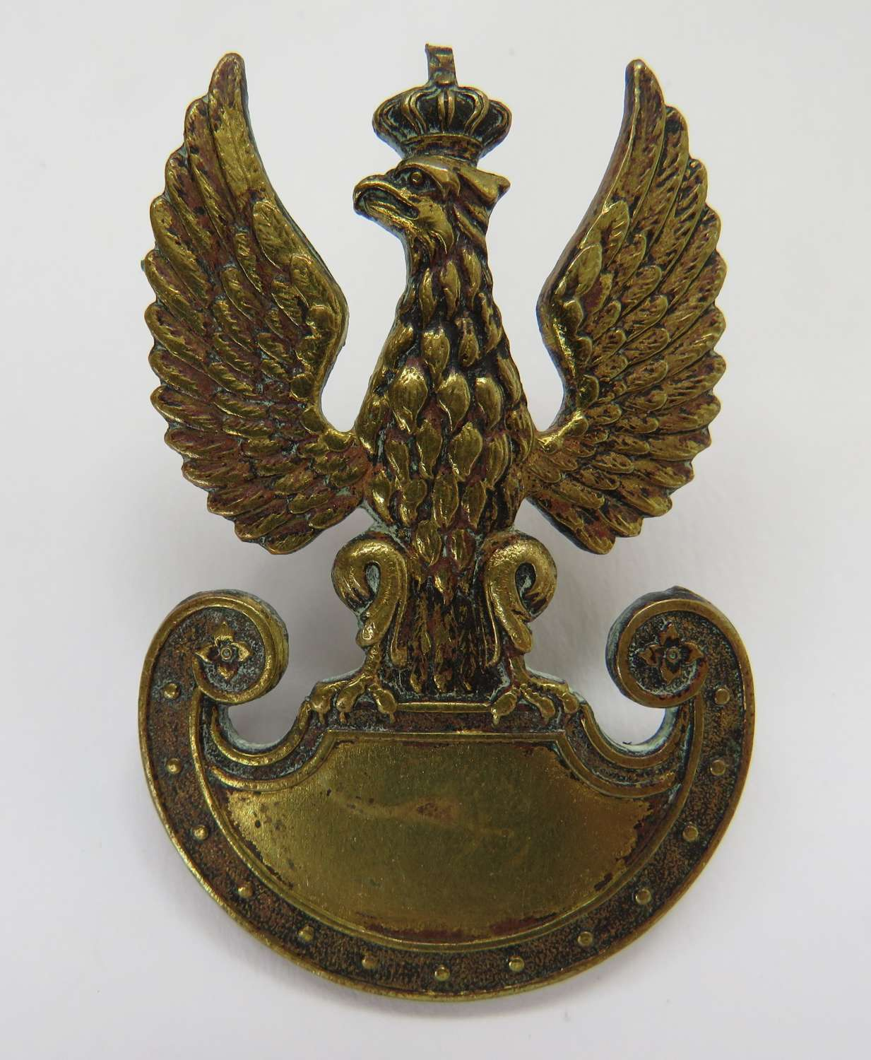 Polish Army WW2 Forces in Exile Cap Badge