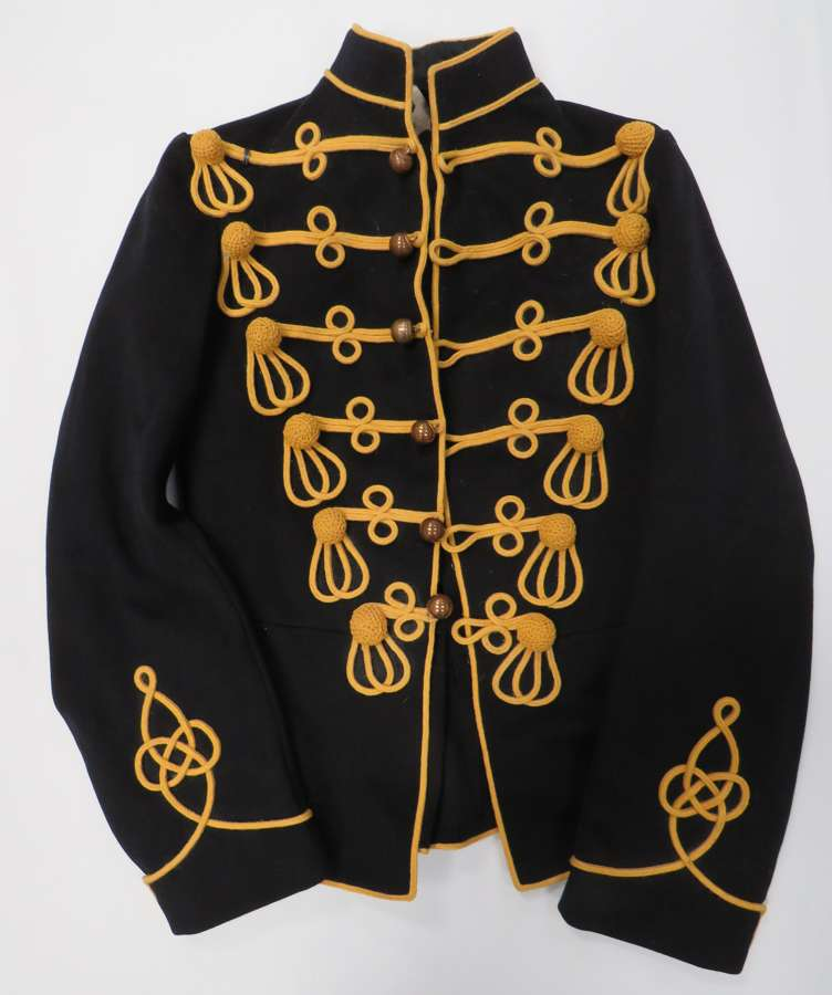 1914 Dated Pre WW1 Hussars Dress Tunic