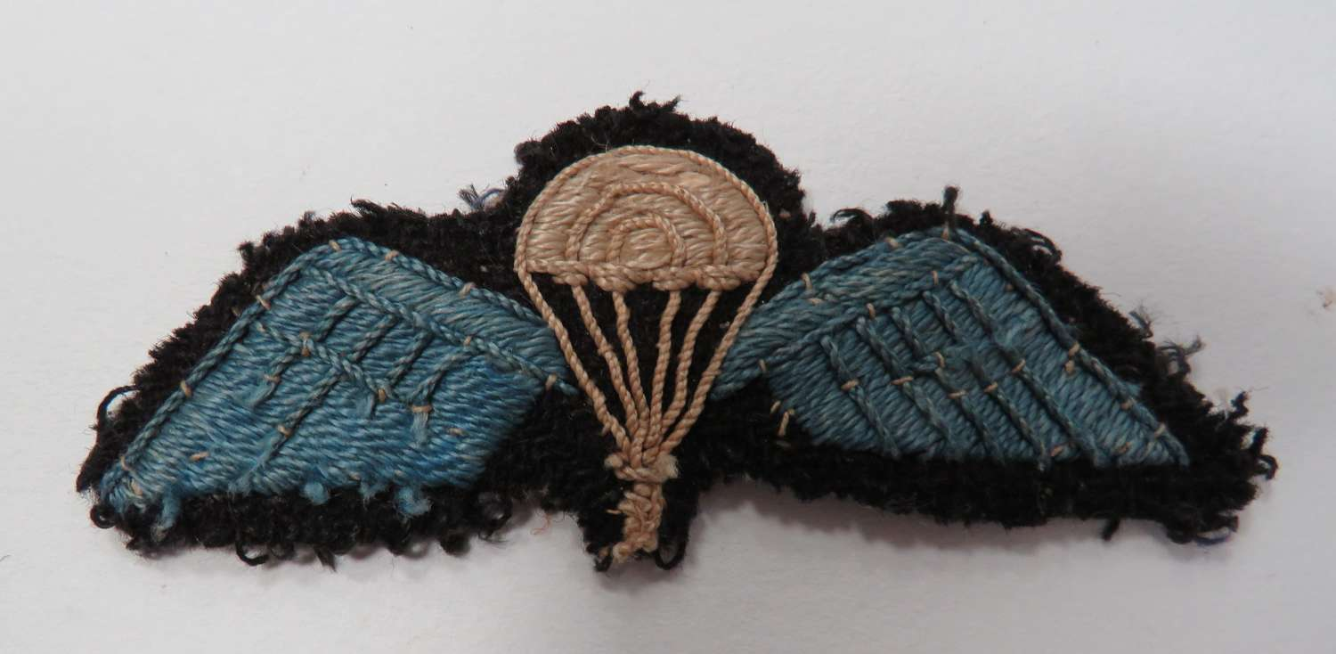 WW2 Indian / S.O.E Parachute Qualification Wings