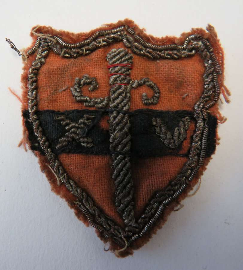14th Army Bullion Embroidery Formation Badge