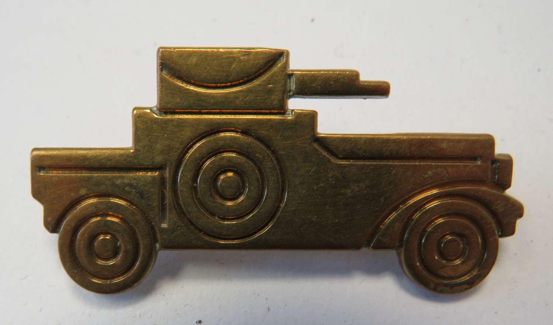 Cavalry Armoured Car Arm Badge