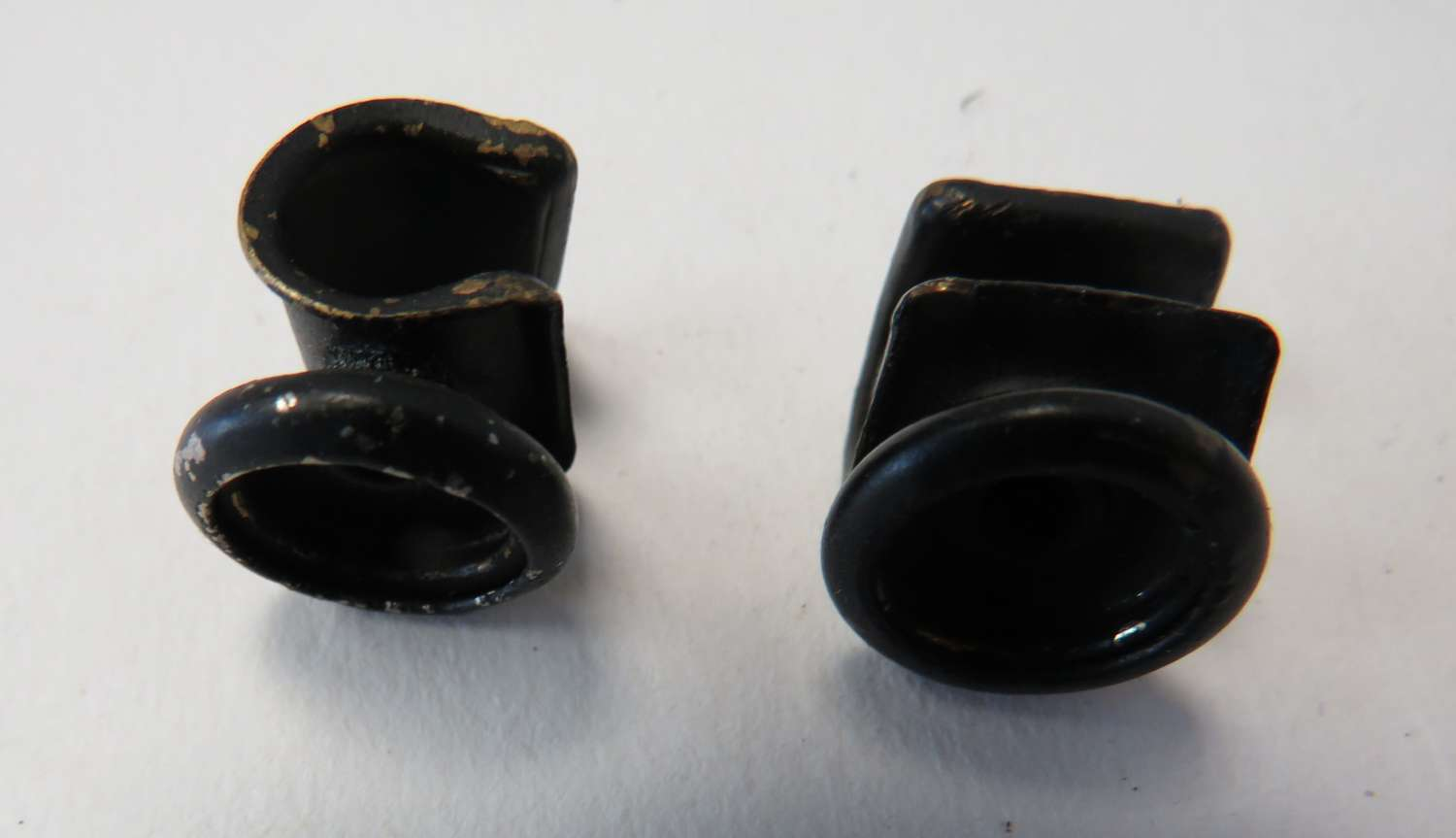 Scarce Pair of R.A.F Mark 4 Goggle Securing Hooks