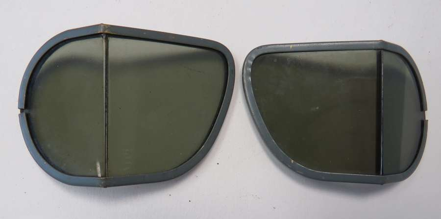 Pair of Mk 7 or 8 Flying Goggle Tinted Lenses