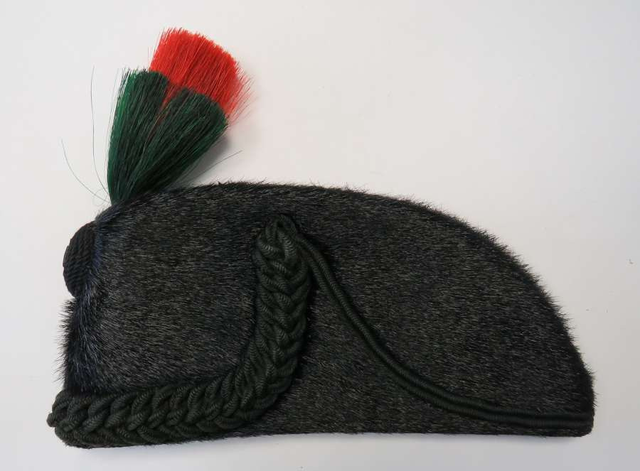 Wiltshire Regiment Volunteer Battalion Other Rank's Seal Skin Cap