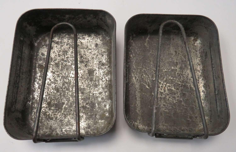 WW2 1941 Dated Two piece Mess Tin