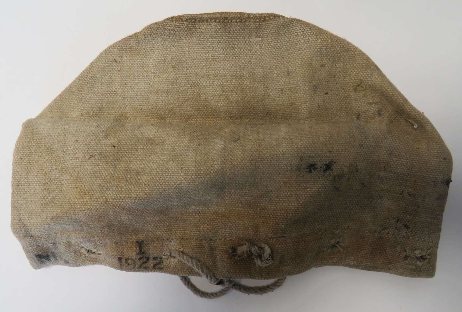 1922 Dated Canvas Muzzle Cover