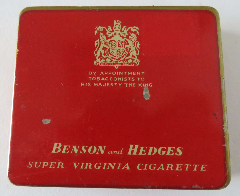WW2 N.A.A.F.I Cigarette Tin