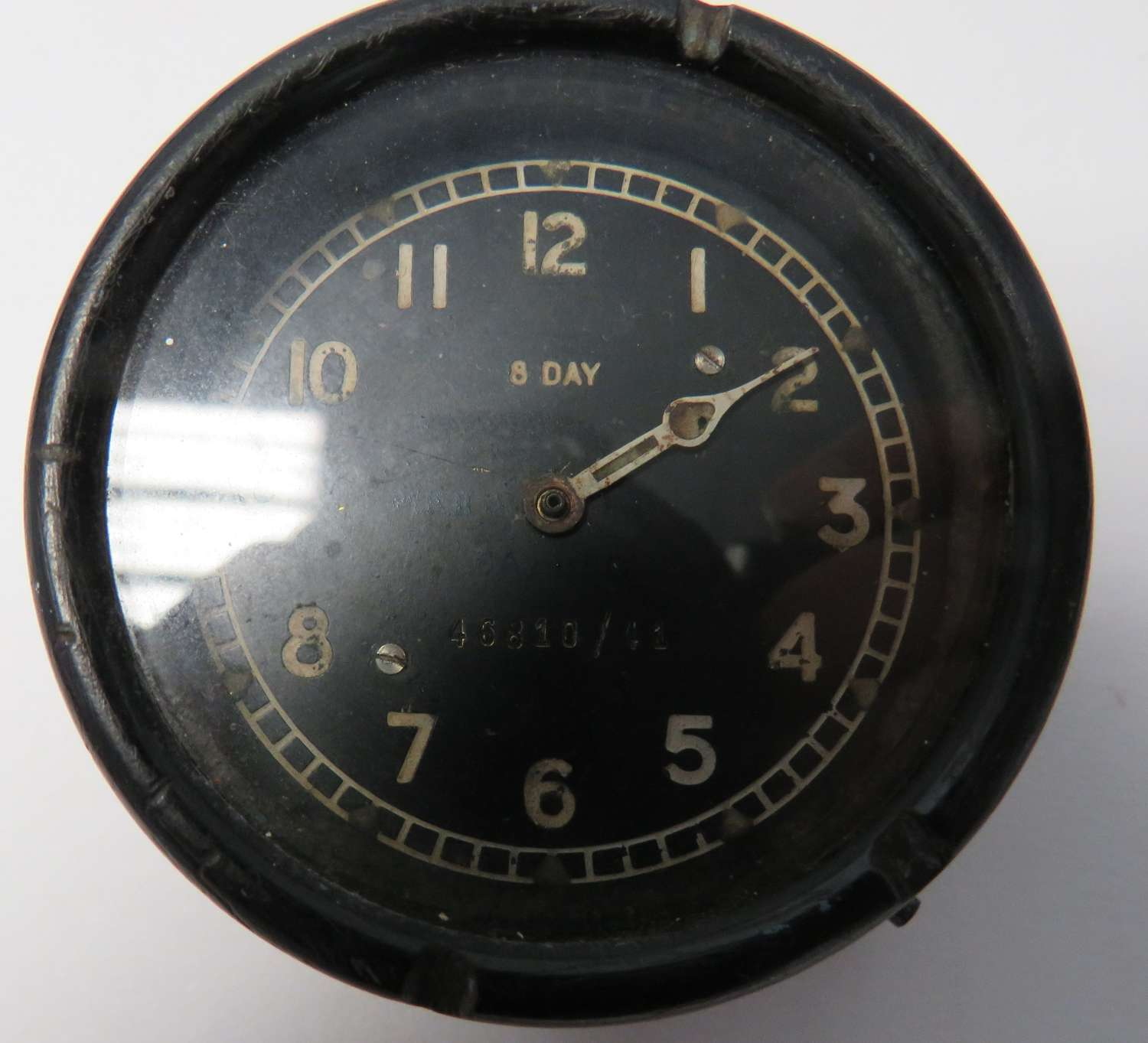 R.A.F 8 Day Aircraft Clock Dated