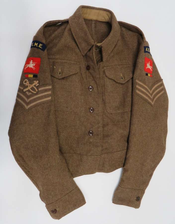 WW2 R.E.M.E 8th Corps 1940 Pattern Battledress Jacket