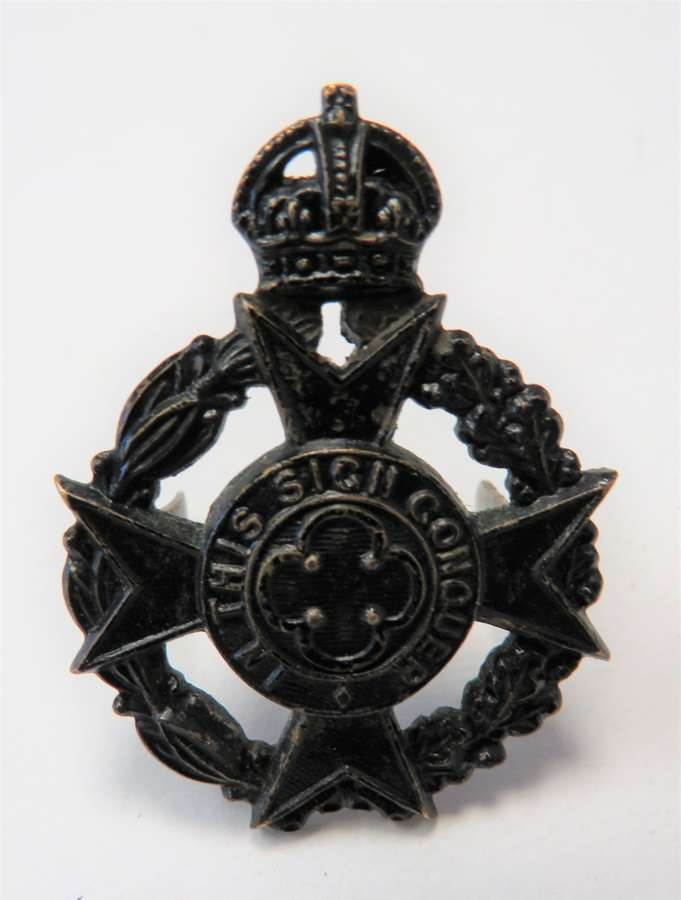 Royal Army Chaplains Department Officers Cap Badge