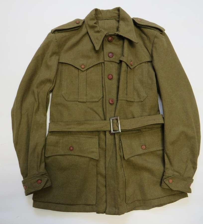 WW2 Italian Pattern Sahariana Tunic
