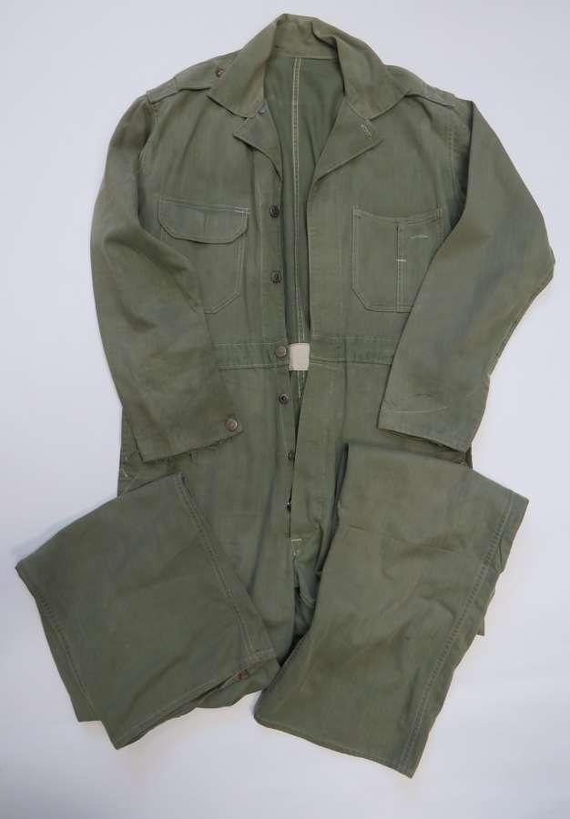 WW2 American Herringbone Twill Working Overalls