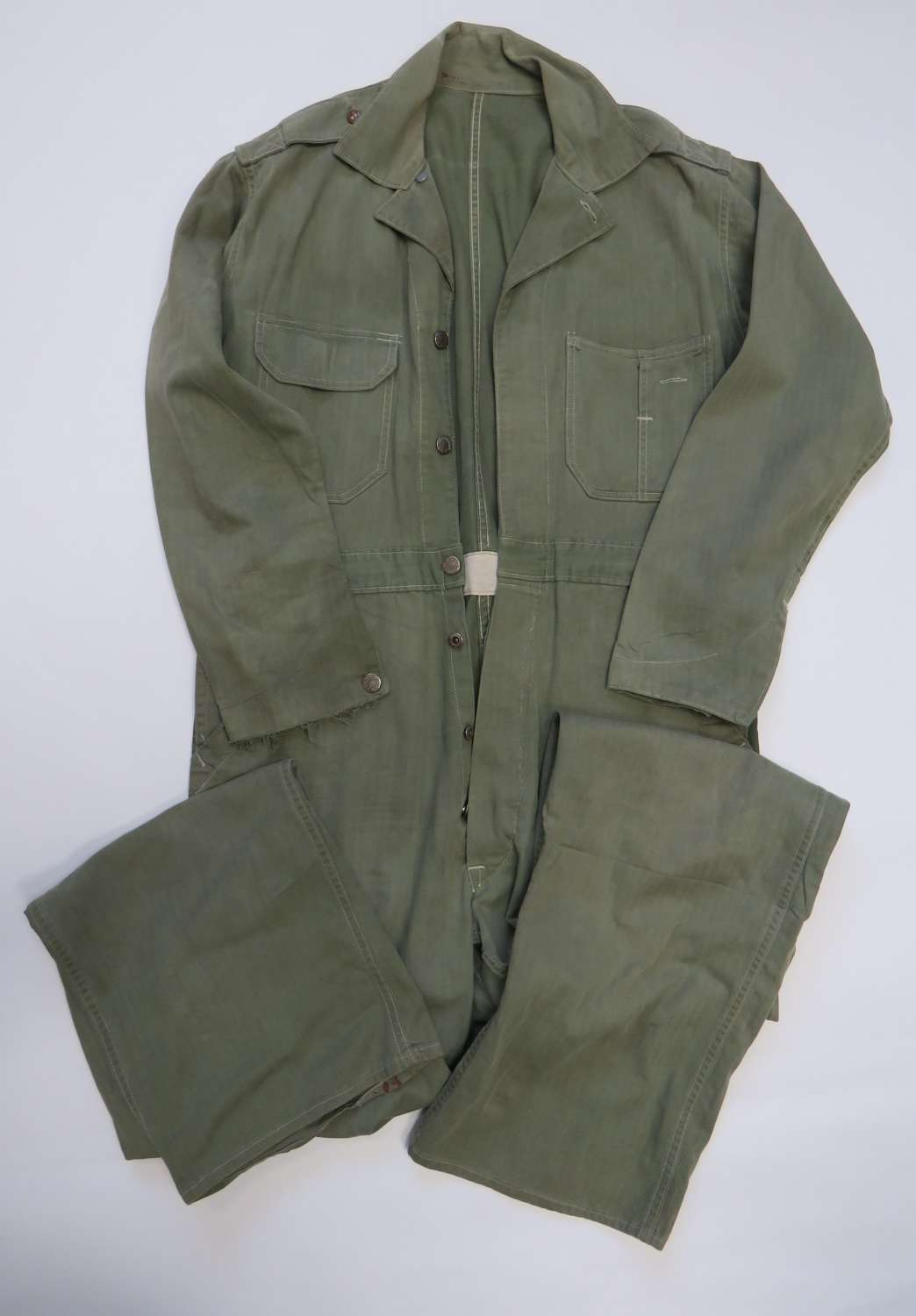 WW2 American Herringbone Twill Working Overalls