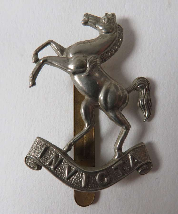 Queens Own West Kent Yeomanry Cap Badge