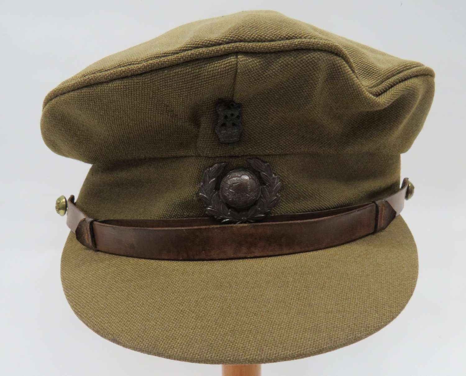 WW2 Royal Marines Officers Service Dress Cap