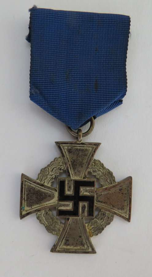 WW2 German 25 Year Faithful Long Service Cross
