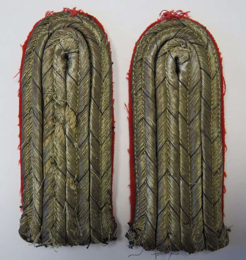 Pair of Continental Officer Shoulder Straps