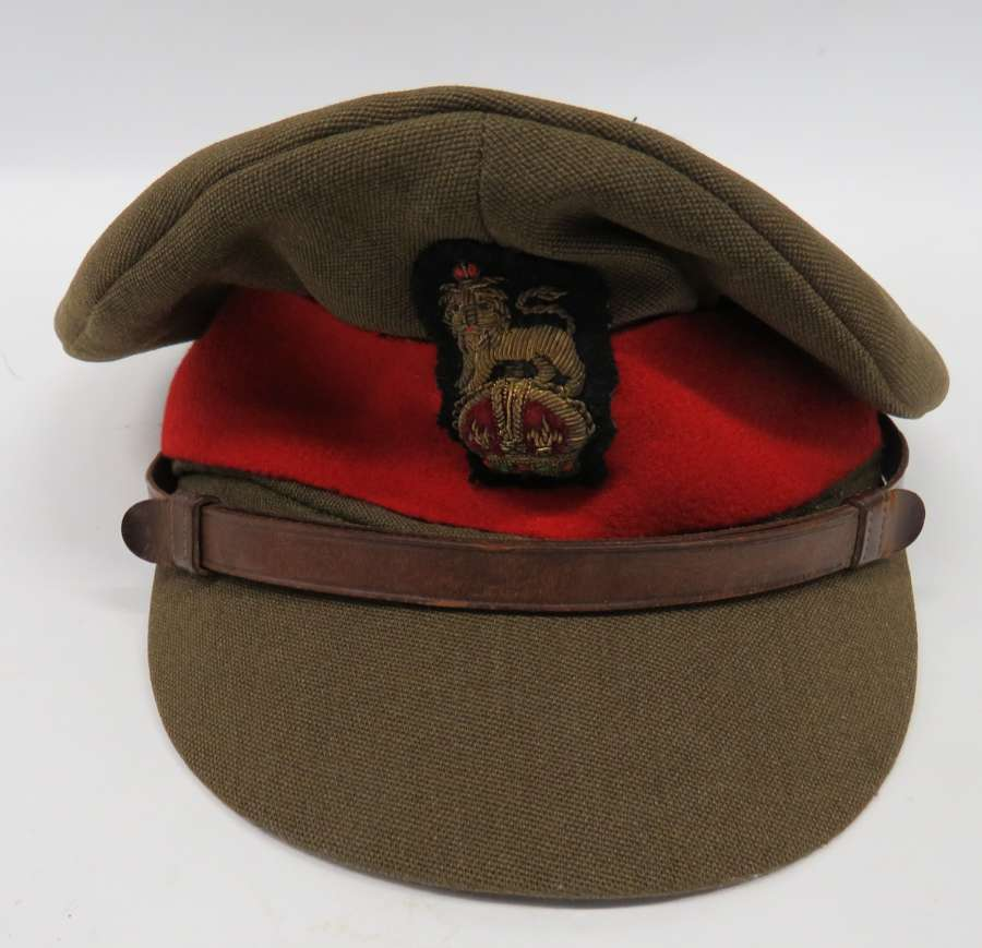 WW2 Brigadier Field Officers Service Dress Cap