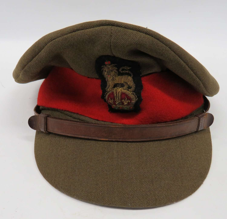 WW2 Brigadier Field Officers Service Dress Cap