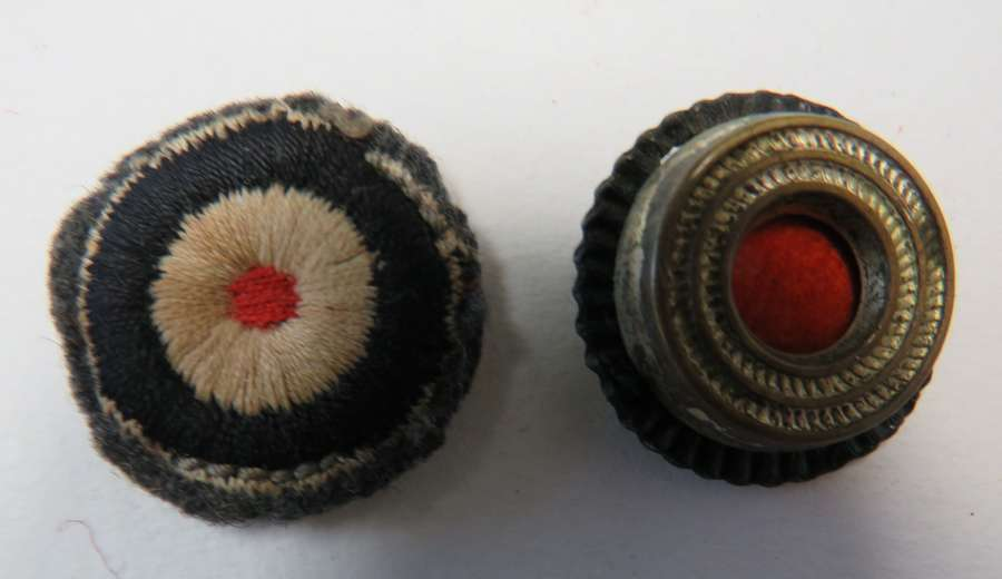 Two German Cap Cockades