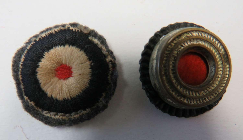 Two German Cap Cockades