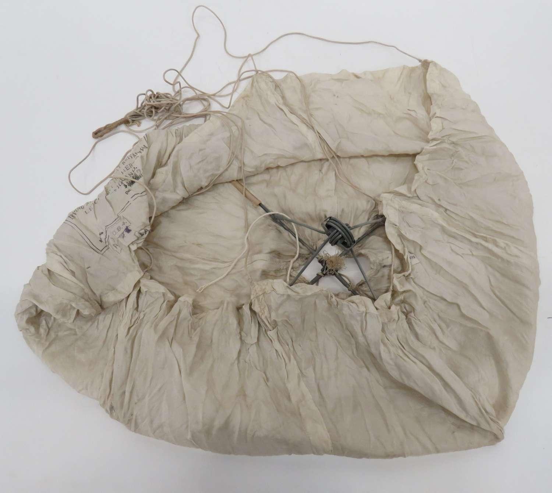 Pre War Irvin Pilot Chute Drogue Parachute