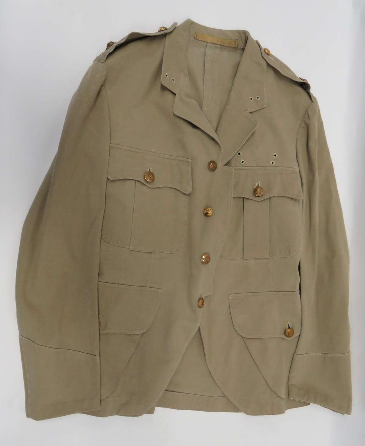 WW2 Highland Light Infantry Officers Tropical Doublet