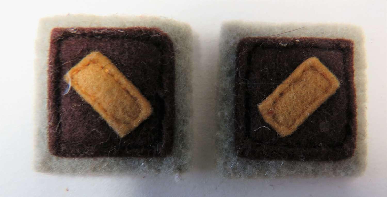 Pair of WW2 Australian Formation Badges