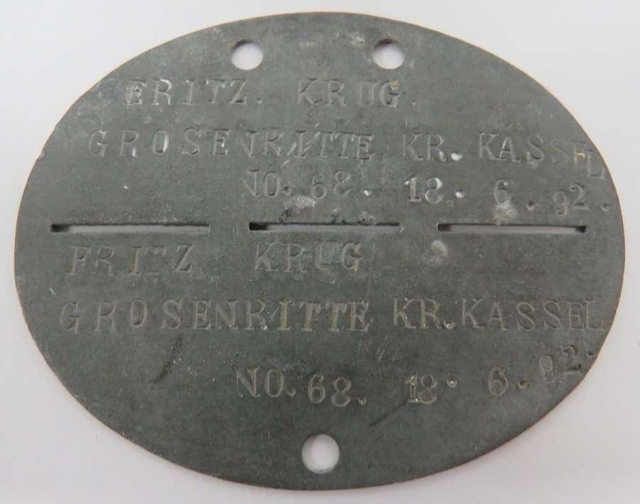 WW1/WW2 German Identification