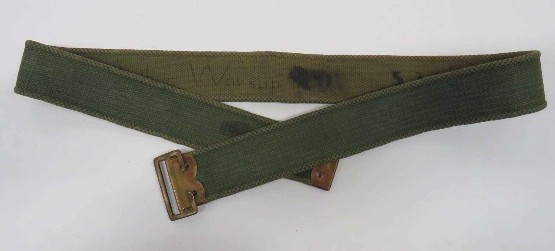 WW1 Simplified Webbing Belt