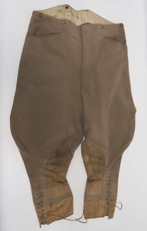 WW1 Pattern Officers Breeches