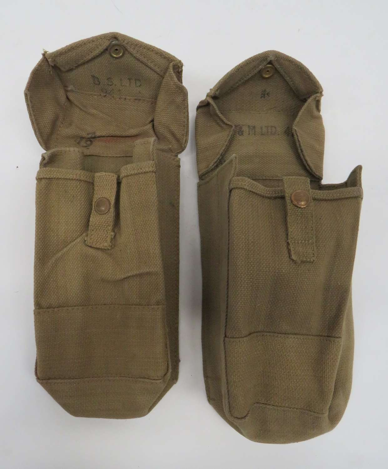 Pair of 1937 Pattern 1941 Dated Utility Pouches