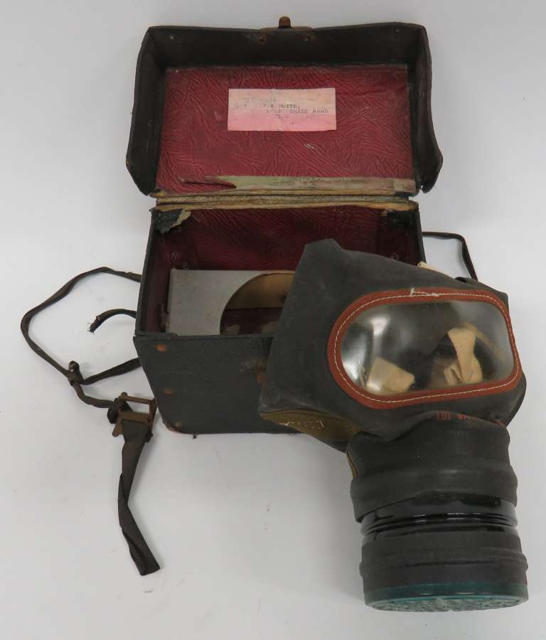 WW2 1938 Dated Civil Respirator