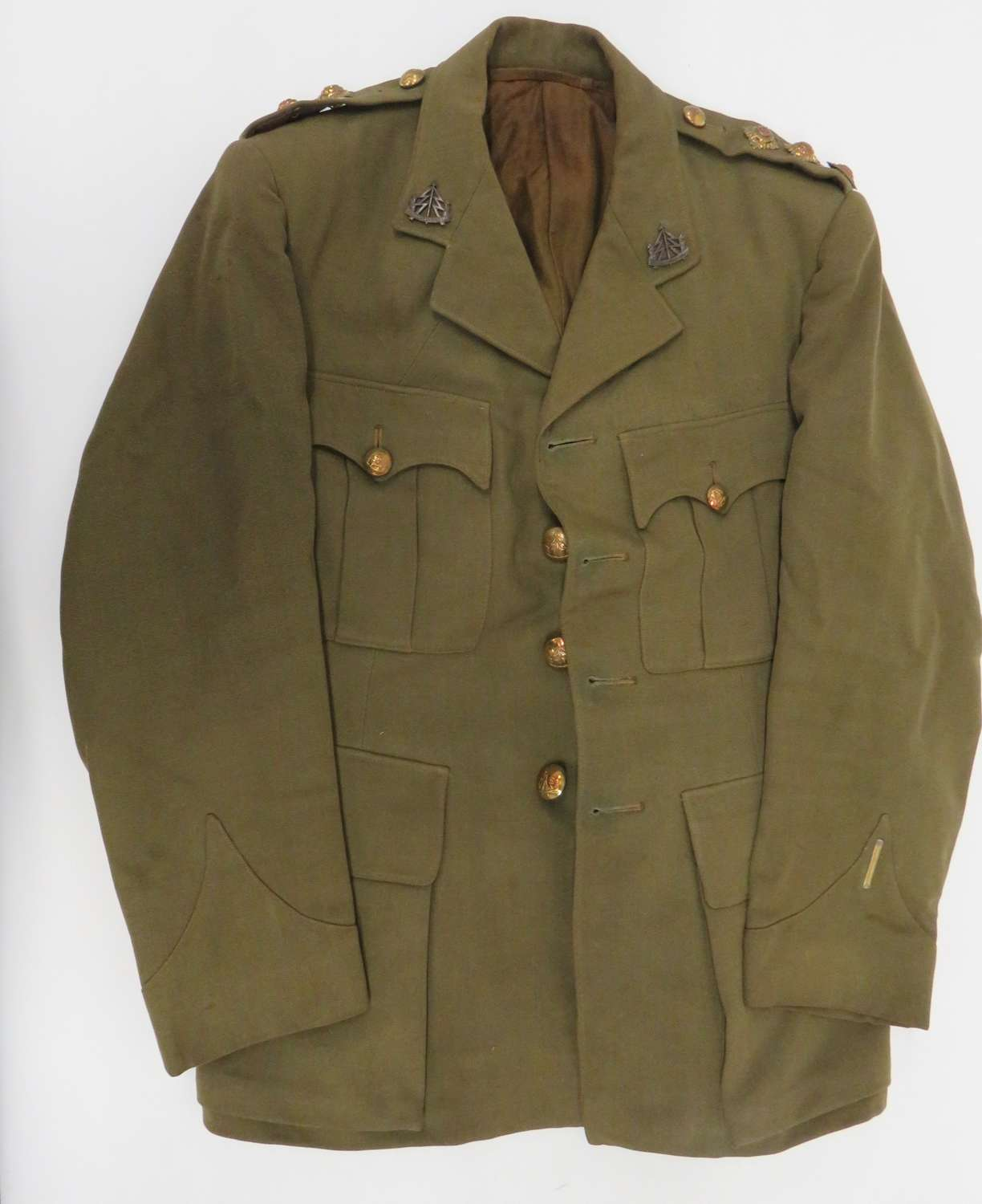 Rare WW2 Reconnaissance Corps Officers Service Dress Tunic