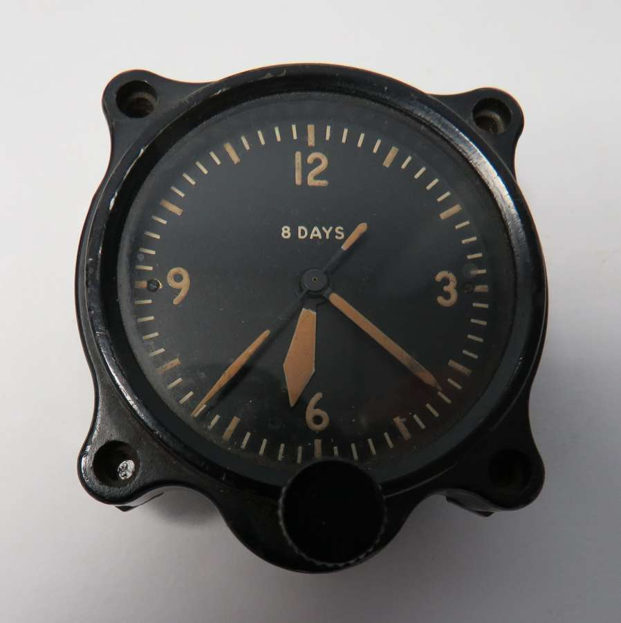 1941 Dated R.A.F 8 Day Aircraft Clock