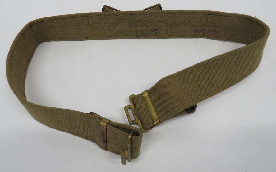 Large Size WW2 1937 Pattern Belt
