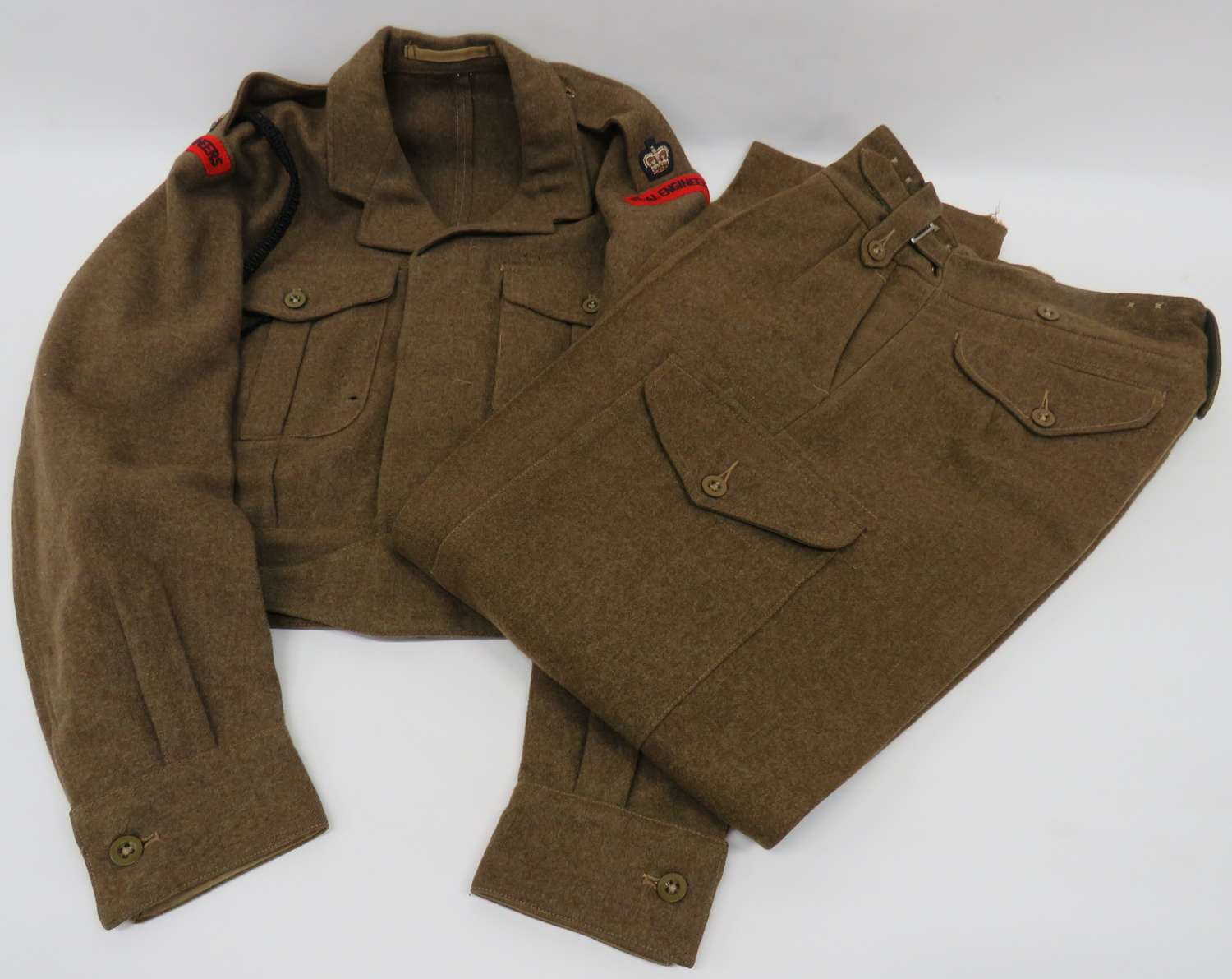 1949 Pattern Officers Battledress Jacket and Trousers