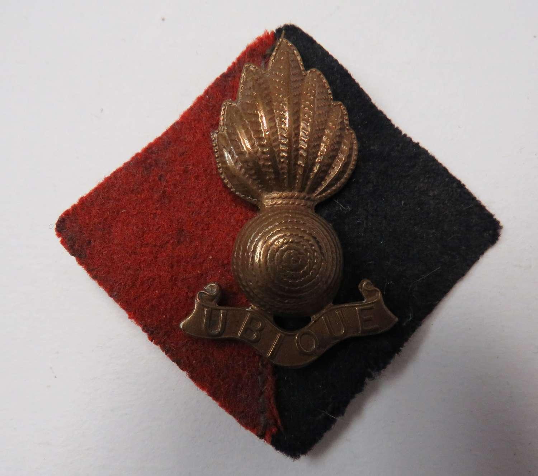 Royal Artillery Pagri Badge