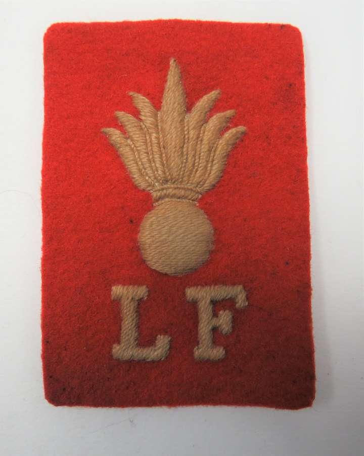 Lancashire Fusiliers Pagri Badge