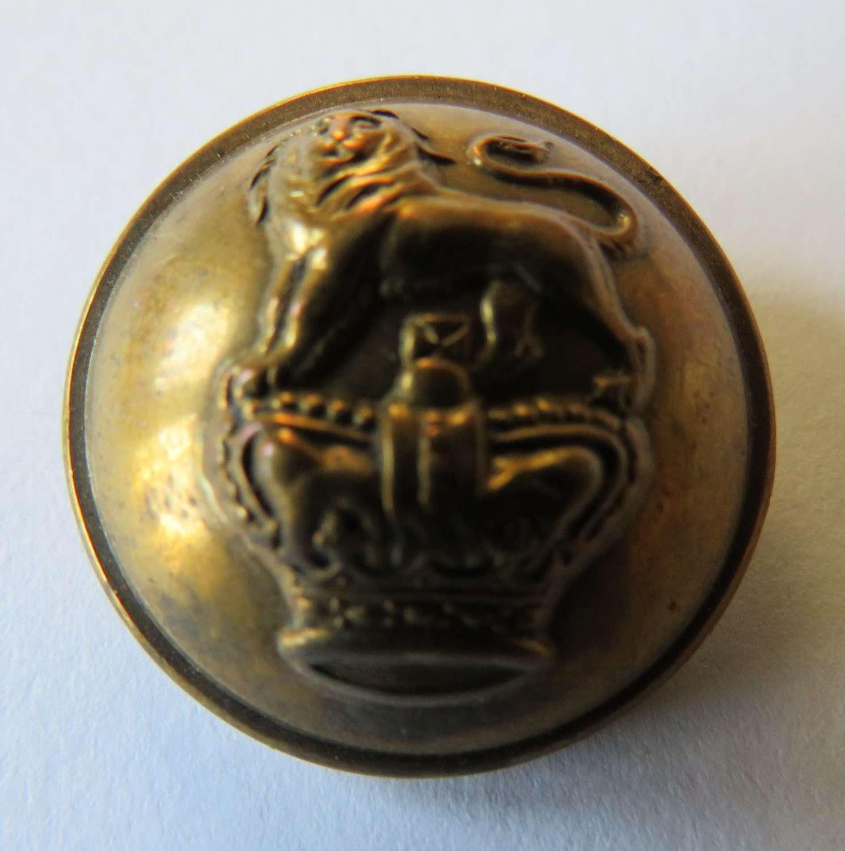 Victorian Royal West Kent Large Button