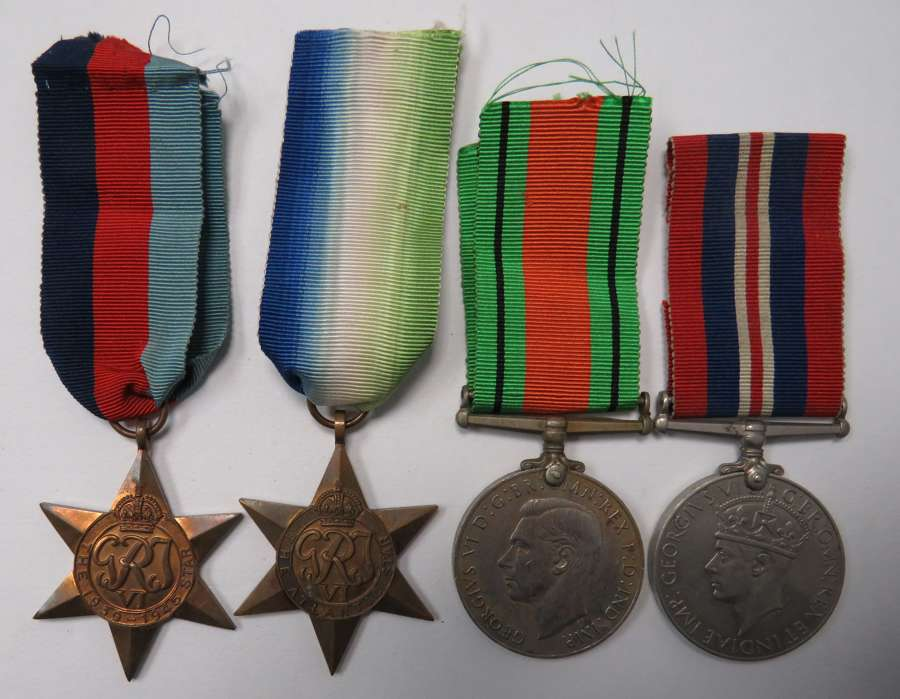WW2 Royal Naval Medal Group