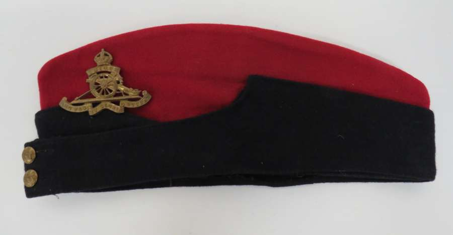 WW2 Royal Artillery Coloured Field Service Cap