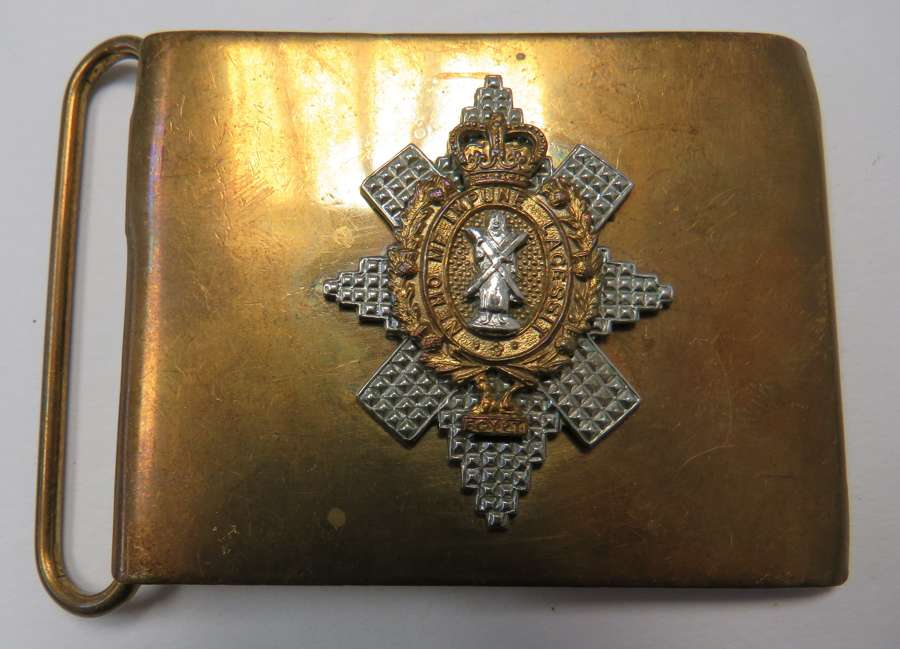 Post 1953 Black Watch Buckle