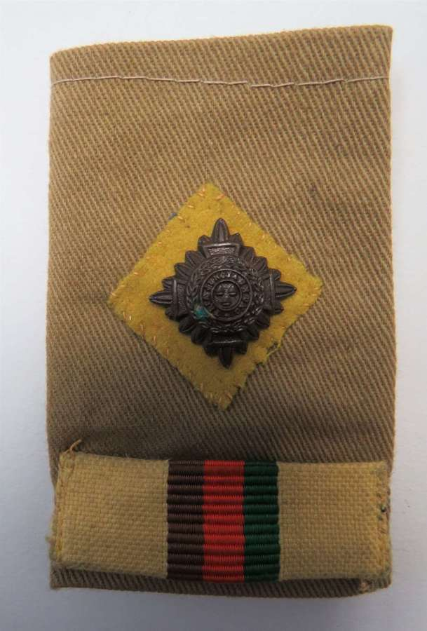 2nd Royal Tank Regiment Officers Slip on Shoulder Strap
