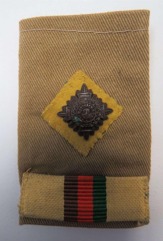 2nd Royal Tank Regiment Officers Slip on Shoulder Strap
