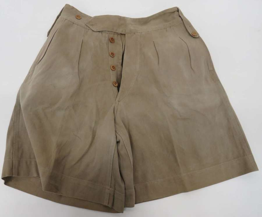 Pair of WW2 Africa Campaign Shorts